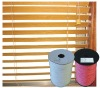 components of wooden blinds
