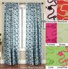 100%Polyester Luxurious Ribbon Embridered Curtain Silk Taffeta Curtain Floral Curtain