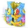 2012 hot pvc inflatable swim vest for kids
