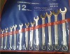 12pcs(8-24mm) CR-V combination spanner set