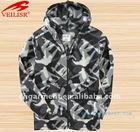 kid's printing polar fleece hoodie