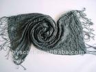 100% wool men's crinkle scarf