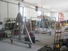 mobile gantry crane for air hoist/electrical hoist manufacturer