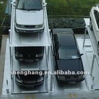 Pit type car double deck parking QDSH-PJ 2000kgs Three floors on the ground