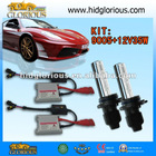12V 35W H10/9005 2012 new slim HID xenon kit