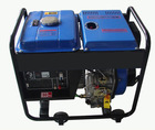 single cylinder 4 stoke open-frame diesel generator with diesel engine