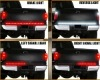 New Hot sell 12V LED tailgate brake/turn/running light bar with 48pcs Red LED for car