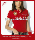 Free shipping free custom polo t-shirt