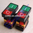 Self Reset LED Indicator Double Push Button Switch