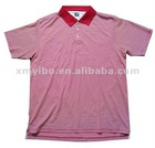 Yarn dyed striped Mens ice cotton Polo shirt