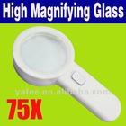 75x High Power LED Loupe Jewelers Magnifier O-869