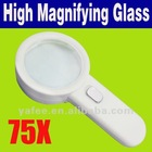 75x High Power LED Loupe Jewelers Magnifier O-869