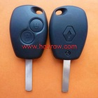 Renault 2 button remote key blank (With Logo)
