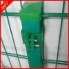 (726)PVC coated double wire fence