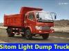 SITOM Light Dump Truck/Tipper Truck 4*2 STQ3037L2Y13 95HP
