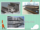 ST52/Q235 Hot rolled equal or unequal steel angles 200*200*18mm