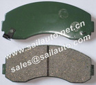 KIA semi-metal brake pads GDB3145, D1513-8722, FDB1004