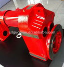 Coaxial Shaft Helical Geared Motor equivalent as SEW gearbox for screw conveyor