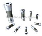 high precision D20 collet tool,steel collet,milling machine collets