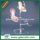 metal slatwall shoe display shelf