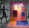 elegant acrylic display cabinet
