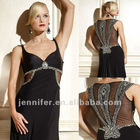 2012 Black zuhair murad sexy evening dresses (abh434)