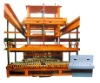 Clay brick automatic setting machine with high efficiency