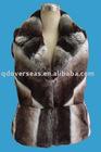 comfortable women fake fur coat vest