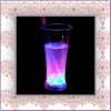 2011 new ! fashionable led lights up of barware flashing plastic beer mugs