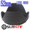 52mm Lens Hood (Screw Mount) Petal Crown Flower Shape