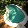 Curved fiberglass supplier of swimming pool
