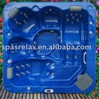 Acrylic bathtub A520-L with 5 seats