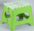 Folding Step Stool/Plastic colorful household portable folding step stool