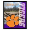 Clemson Tigers Building Mylar Framed Photo AMM004