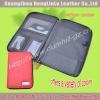 A5 PU Leather Zipper Folder