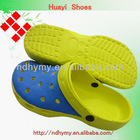 fashion men eva injection plastic clog garden shoes