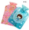 Cartoon Body Hand Warmer Hot Water Bottle Warming Bag with Cover