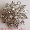 fashion cheap alloy rhinestone crystal brooch