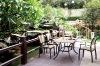 Garden wooden funiture coffee set