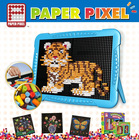 Diy Paper Puzzle- 6305 Tiger Jigsaw Puzzle A4 Size