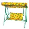 Folding swing beach chair