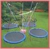 hot sale 4pcs united jump sport trampoline