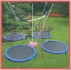 hot sale 4pcs united jump sport trampoline