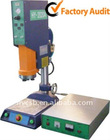 Precise computer controlled ultrasonic plastic welding machine