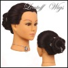 Human hair training head