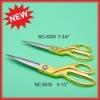 Discount sewing scissors,golden tailor scissors