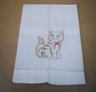 Cat design Guest Towel