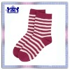 New design lady cotton stripe sock