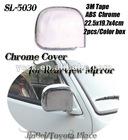 Chrome Car Side Mirror Cover