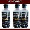 Super shining liquid car wash wax for polish